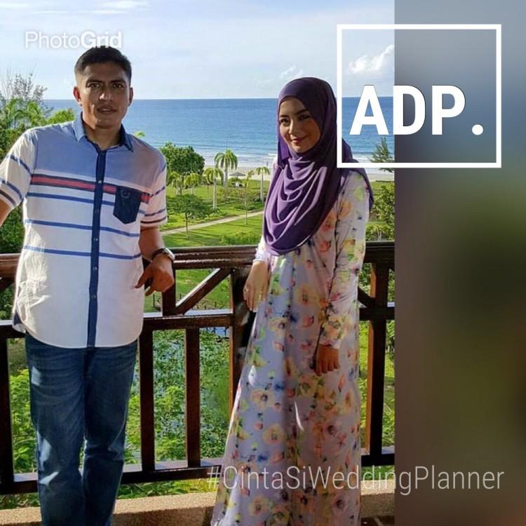 Adi putra dan Zara Cinta Si Wedding Planner