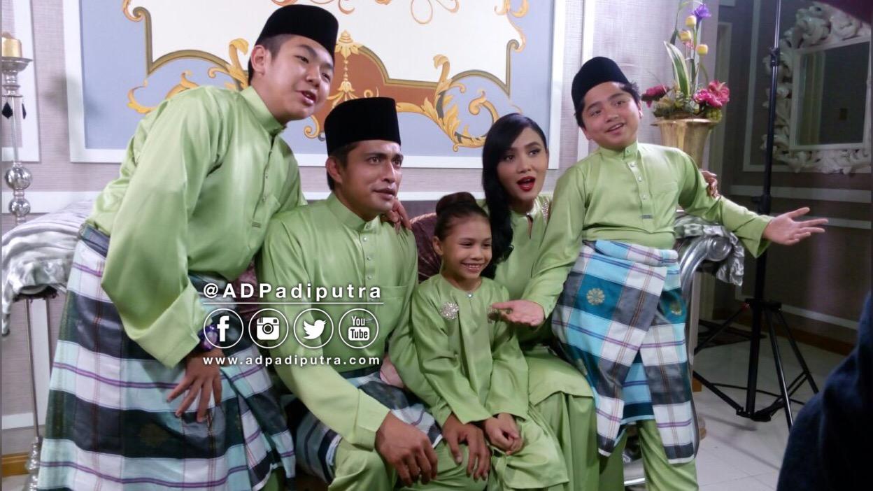 keluarga adam dan shila dalam lambaian ramadan