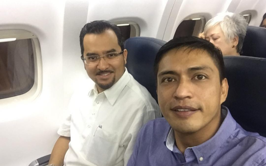 Adi Putra bersama Dr Asyraf Wajdi melawan Kelantan