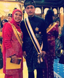 adi Putra dapat darjah Datuk Pahang